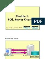 Module 01_SQL Server Overview