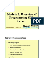 Module 02_Overview of Programming SQR Server