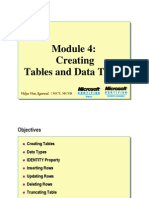 Module 04_Creating Data Types and Tables