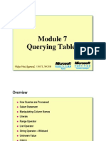 Module 07_Querying Table