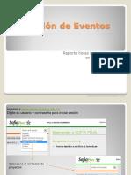 Instructivo Creación de Eventos