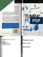 Nancy, Jean-Luc Tumba de Sueño