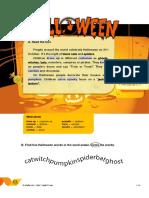 Worksheet Halloween