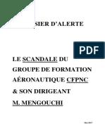 Dossier d'Alerte - Scandale IFPNC IATC CFPNC-Mengouchi