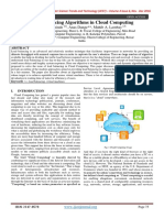 Load Balancing In Cloud computing