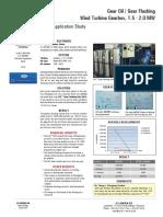 Wind Gear Oil Wind Turbine Gearbox 1.5 2.0 MW Gear Flushing China ASWI9005UK
