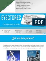 Diseño de Plantas- Eyectores