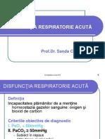 2. Disfunctia respiratorie