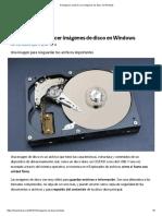 Protege Tus Archivos Con Imágenes de Disco en Windows