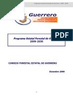 Programa Estratégico Forestal Del Estado de Guerrero