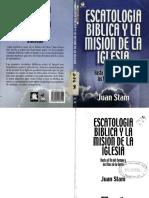 Escatología Bíblica y La Misión de La Iglesia