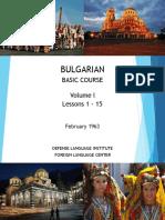 DLI Bulgarian - Vol 01 Less 01-15