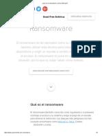 Qué Es El Ransomware y Cómo Eliminarlo
