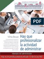 Revista Propiedad Horizontal de la Cámara Argentina de la Propiedad Horizontal y Actividades Inmobiliarias