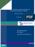 La Cultura Del Seguro de Responsabilidad Civil Profesional Para Médicos