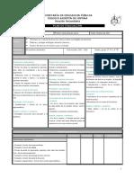 Plan de Evaluación de Español 3º (B2)