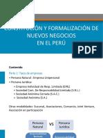 Constitución Formalización