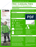 Paeds Mountain Casualties Poster RCEM 2017
