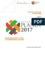 Planea2017 Guia Del Docente Comprension Lectora