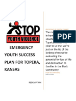 Emergency Youth Success Plan for Shawnee County Kansas Community Version 10-09-2017