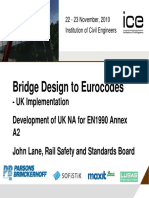 Bridge Design to Eurocodes - UK Implementation