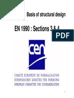 EN1990 3 Sections 3 & 4 Spehl
