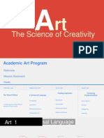 art - the science of creativity