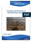 OSC Municipal Water Systems Report