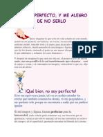 No Soy Perfecto