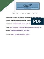 Gabysol Contreras Infante Costos Aplicados i