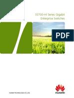 HUAWEI S5700-HI Series Switches Datasheet