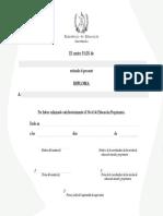 Diploma de Finalización PAIN