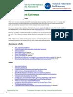 CIMA-Data Journalism Resources