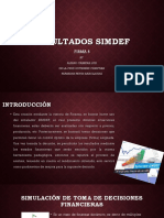 Firma 5 Primer puesto al final de SIMDEF