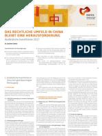 MERICS China Monitor No 38 Auslaendische Investitionen De