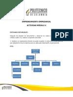 Actividad Modulo 4-Emprendimiento