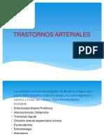 TRASTORNOS ARTERIALES