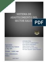Sistema de Abastecimiento Del Sector Salud Peruano