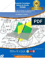 Modulo Algebra Lineal