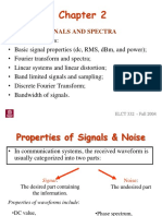 1 a Signals and Spectra