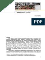 Planos Diretores e a Implementacao Da Agricultura Urbana Problemas e Propostas