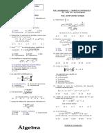 Expresiones a, Teoria de Exponentes 5