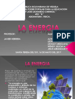 Alyelin Romero, La Energia en Fisica