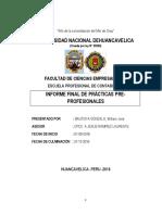 Informe Final de Practicas Preporfesionales