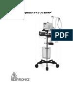 RESPIRONICS_BIPAP STD 30_Sistema Hospitalar_Manual Clinico