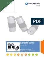 ORMAZABAL - Sistema Modular y Compacto CGM.3 - Unión de Celdas - RA-163-ES.02