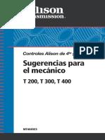 Manual de Taller Cajas Serie T200 T300 T400