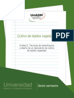 Unidad3.Tecnicasdeesterilizacionydiseñodeunlaboratoriodecultivodetejidosvegetales (1)