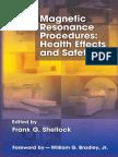 [Frank G. Shellock] Magnetic Resonance Procedures(BookSee.org)