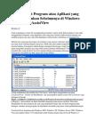 Cara Melihat Program Atau Aplikasi Yang Telah DiJalankan Sebelumnya Di Windows Dengan UserAssistView